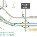 Northside Detoure Route