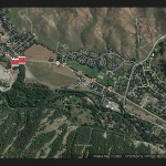Map of ID-75 road work in Blaine County