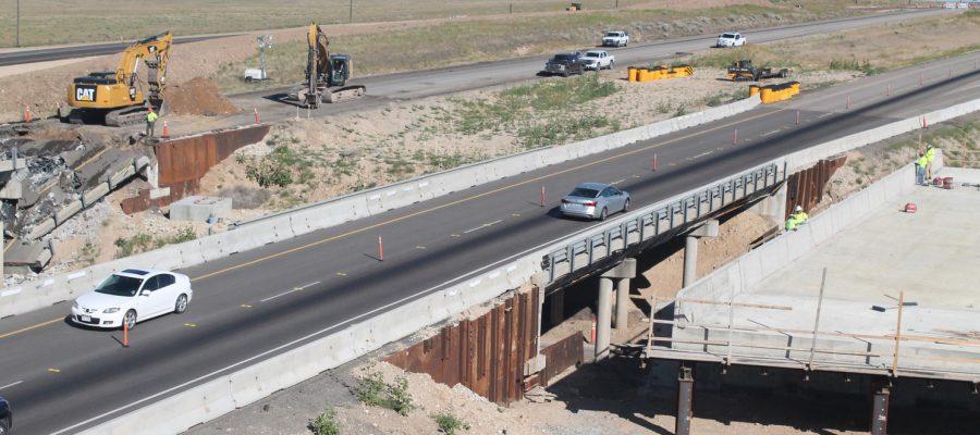 demolition of the blacks creek bridge begins