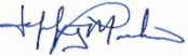 Jeff Marker signature