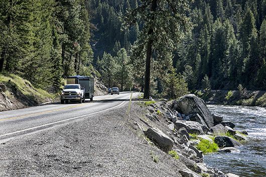 Blasting and road closures begin on ID-55 Smiths Ferry project