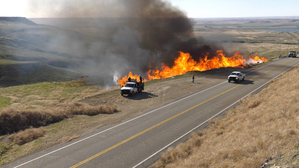 Report shows significant reduction in human-caused fires along I-84 even as traffic increases