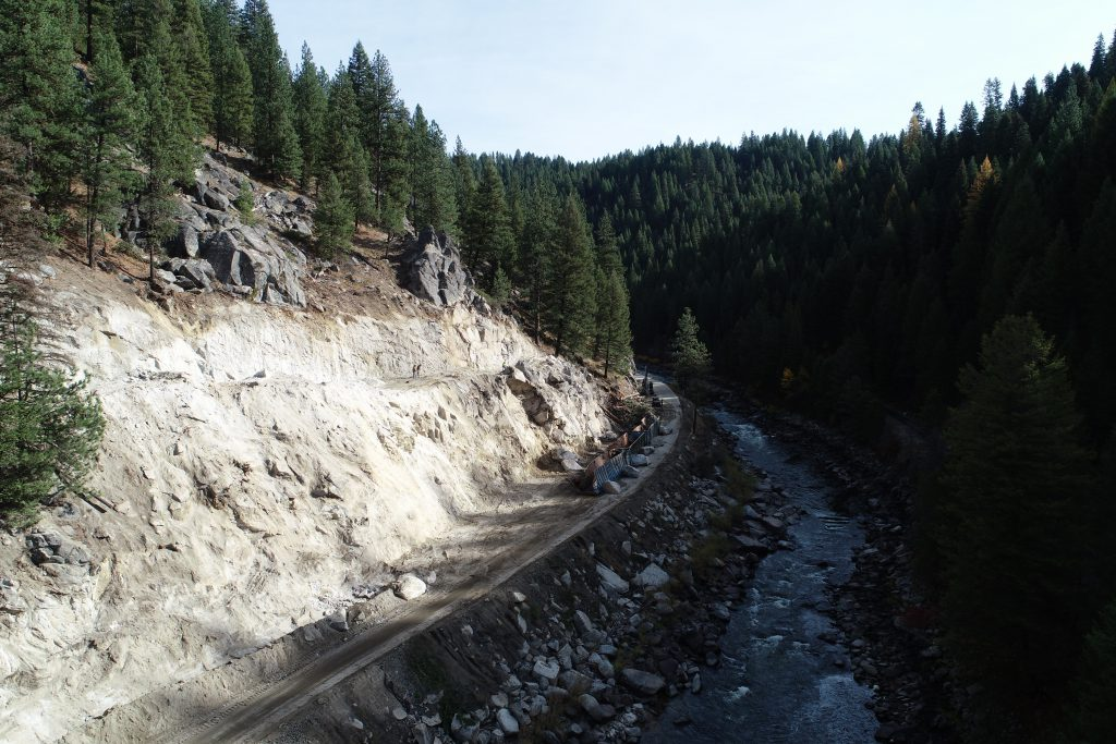 Construction on ID-55 Smiths Ferry project pauses for winter season