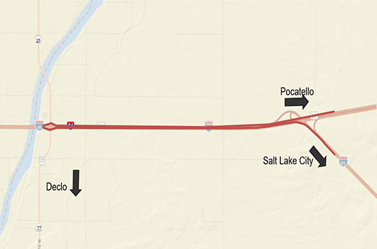 Westbound ramp closure to begin tomorrow at the Salt Lake Interchange