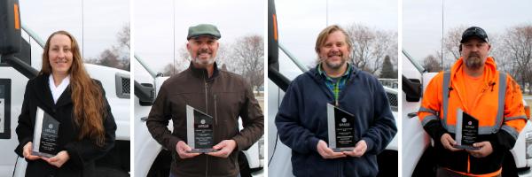 Recipients of LIM award