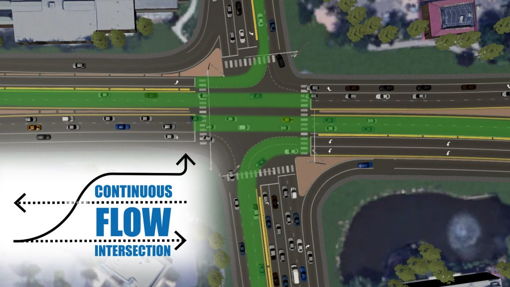 Construction of innovative intersection redesign at Eagle Rd. and Idaho Highway 44 (ID-44) begins next week