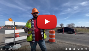 Focus on safety in work zones.