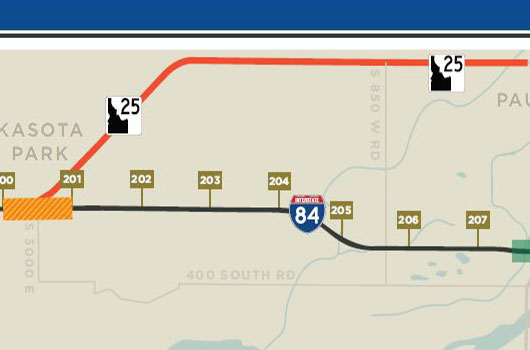 I-84 exit and portion of ID-25 west of Paul to close for 10 days starting Tuesday
