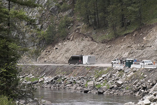 ID-55 Smiths Ferry project transitions to summer work schedule