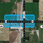 Map view of US-93 expansion project in Jerome County