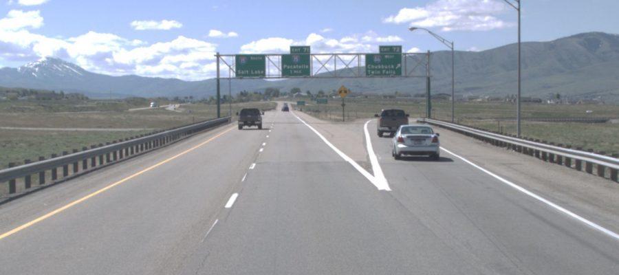 I-15/I-86 Interchange Southbound