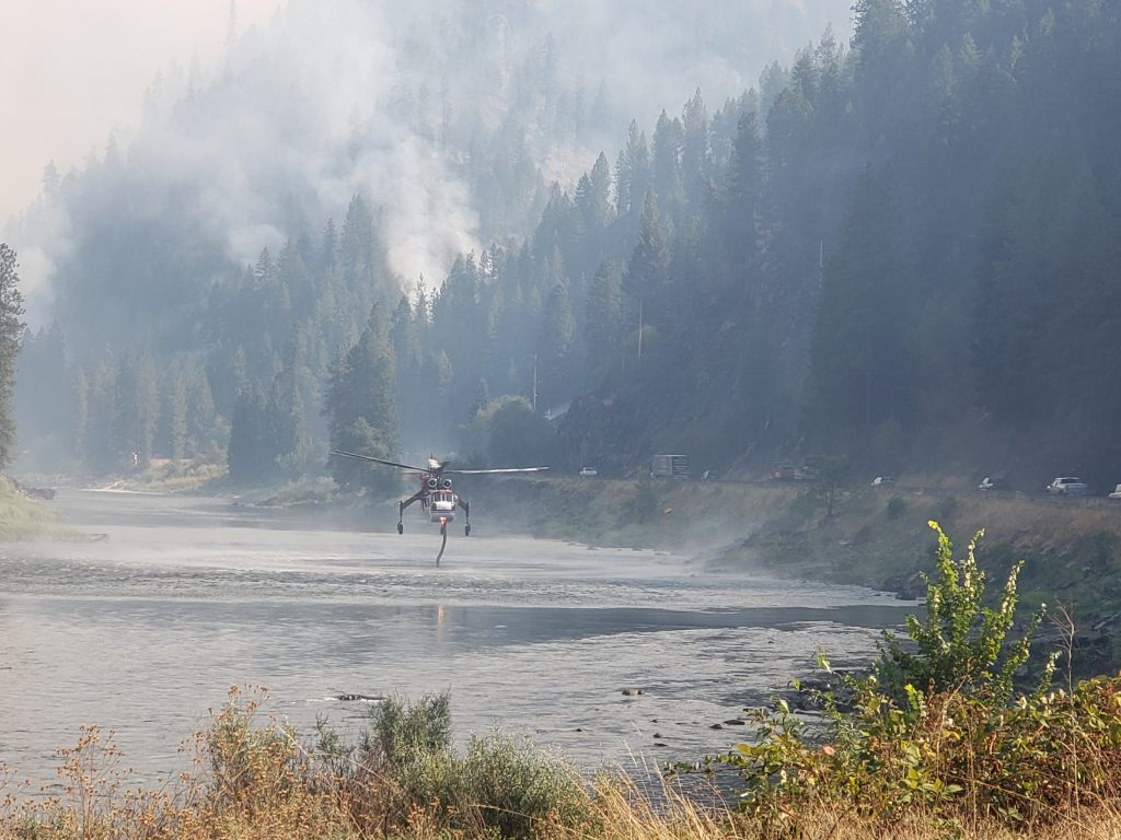 ITD providing exemptions for truckers after Gov. Little's fire season emergency declaration