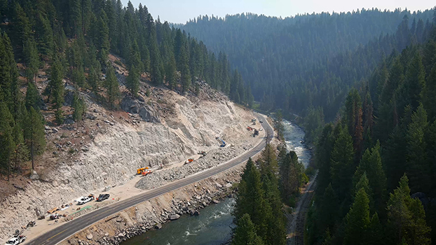 ID-55 project between Smiths Ferry and Rainbow Bridge to resume road closures after Labor Day