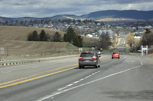 Idaho Transportation Department seeking bids for US-95 expansion south of Moscow